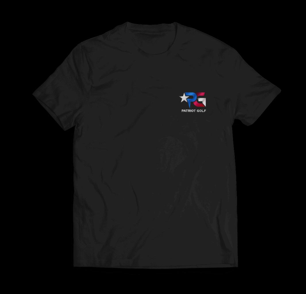 Patriot Golf black Shirt