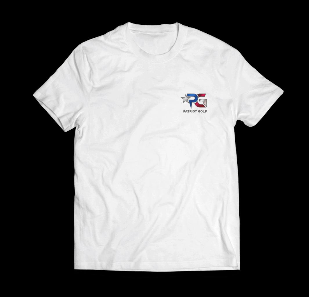 Patriot Golf White Shirt