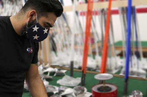 Marine Gluing Golf Club at Patriot Golf