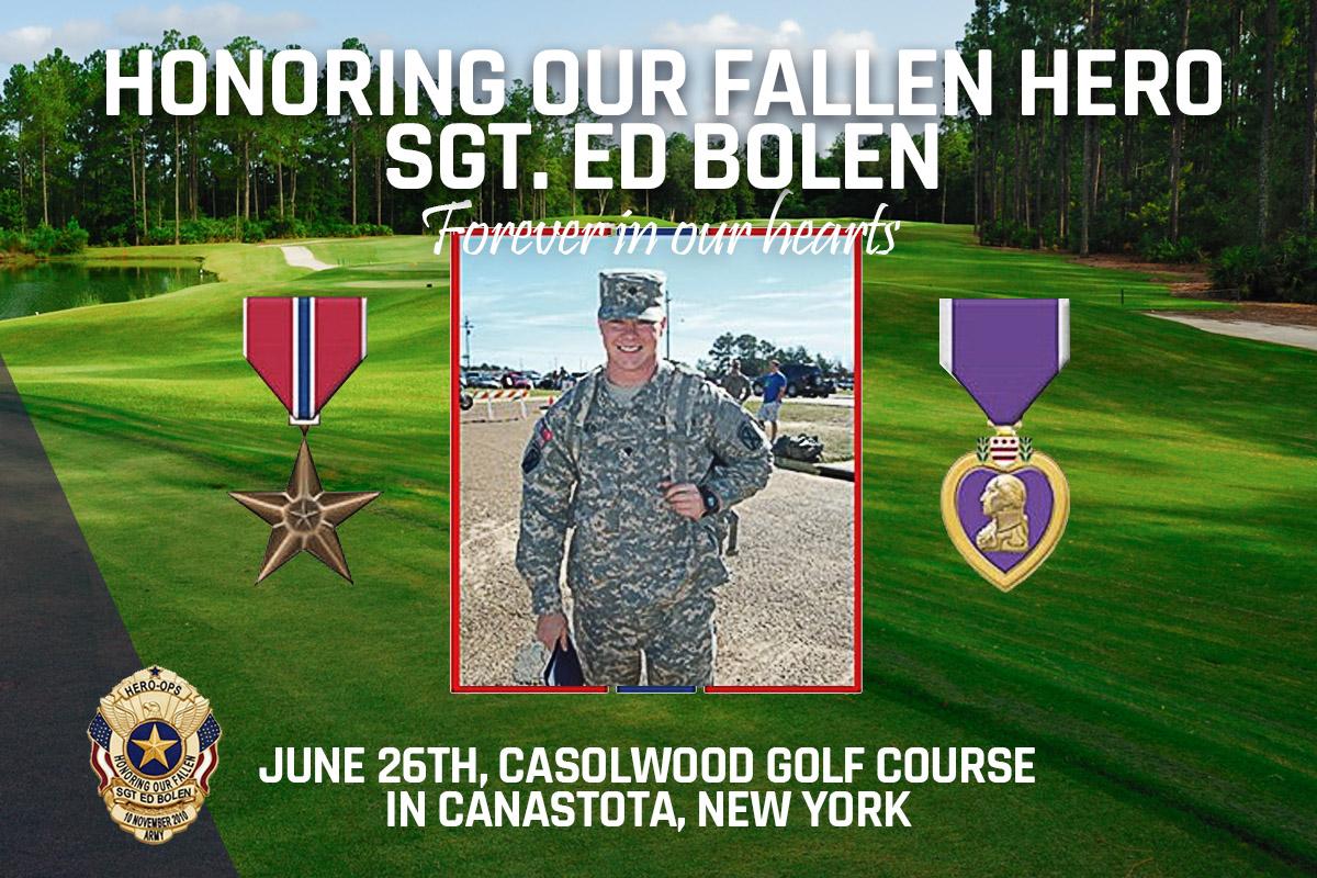 Sgt. Ed Bolen Memorial Annual Charity Golf Tournament
