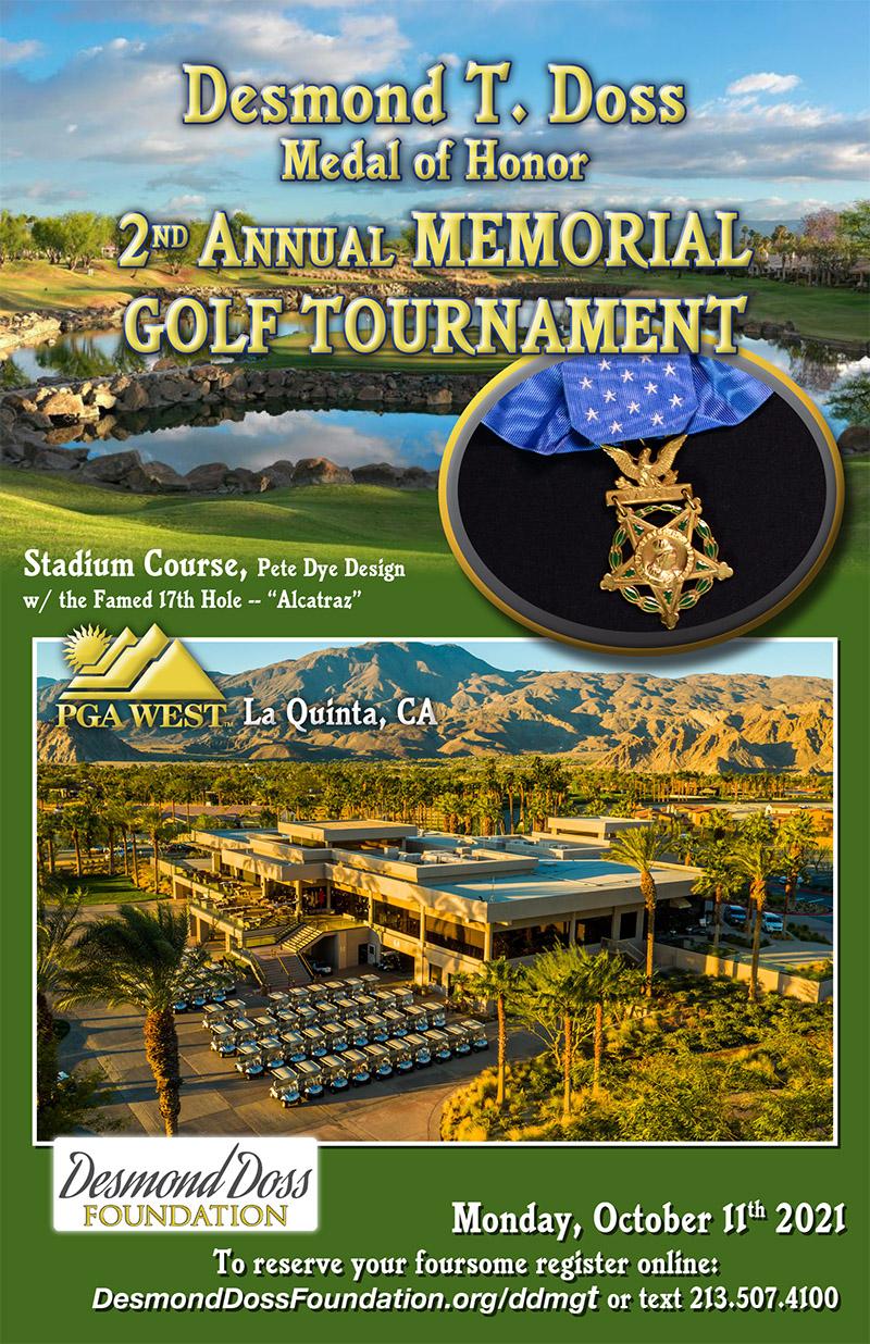 2nd Annual Desmond T. Doss Memorial Golf Tournament